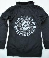 Zip-Sweater von Queen Kerosin - Born for Speed