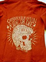 Sweatjacke von Queen Kerosin / rot - Ride or Die