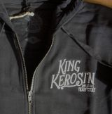 Zip-Hoodie Gestickte von King Kerosin - Ride Forever