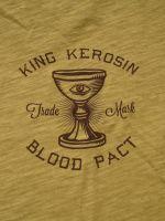 Oilwashed-Shirt von King Kerosin - Blood Pact / Gold