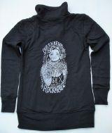 Zip-Sweater von Queen Kerosin - Tattoed Girl
