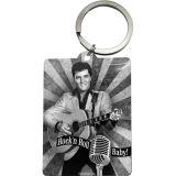 Schlüsselanhänger - Elvis / Rock`n`Roll Baby