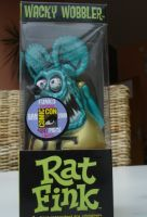Wobbler - Rat Fink / Metallic Petrol-Gold Limited Edition