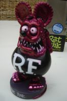 Wobbler - Rat Fink / Metallic Rot-Schwarz Limited Edition