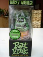 Wobbler - Rat Fink / Metallic Green-Red Limited Edition
