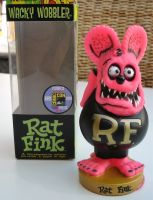 Wobbler - Rat Fink / Pink