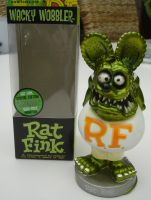 Wobbler - Rat Fink / Metallic Green-White Limited Edition