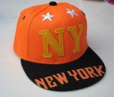 Kinder Baseball Cap / Snapback - New York / Orange
