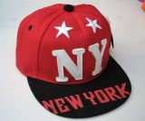 Kinder Baseball Cap / Snapback - New York / rot