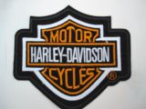 Patch -  Harley-Davidson Motor Cycles / Schild
