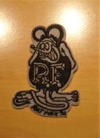 Patch - Rat Fink grey