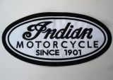 Rücken-Aufnäher / Patch - Indian Motorcycle / Since 1901
