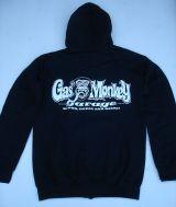 Hoodiejacke - Gas Monkey Garage, Monkey Logo