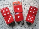 Fuzzy Dices - Red with different scents