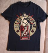 King Kerosin Regular T-Shirt / High Octane Pin Up - schwarz