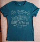 Watercolor-Shirt von King Kerosin / Rat Bastard - blue
