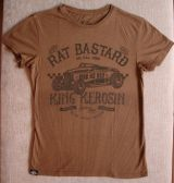 Watercolor-Shirt von King Kerosin / Rat Bastard - brown