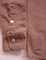 Vintage-Canvas-Shirt brown - blanko