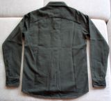Vintage-Canvas-Shirt dusty green - blanko