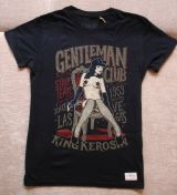 Vintage T-Shirt - Gentleman Club / black