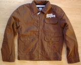 Vintage Canvas Jacke - Shovel Head / brown