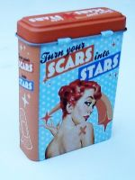 Pflaster Blechbox - Turn your Scars ito Stars