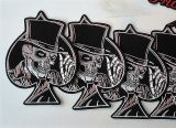 Patch - Spades with Skull Hat Gambler