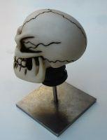 Schaltknauf - Punchy Skull / natural