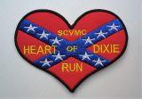 Patch - Südstaaten Herz / Heart of Dixie