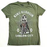 King Kerosin Regular T-Shirt olive - London City