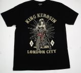 King Kerosin Regular T-Shirt / London City - black