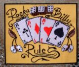 Patch - Rock a Billy Rule / gelb