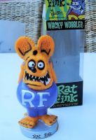 Wobbler - Rat Fink / Orange - Lila