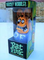Wobbler - Rat Fink / Orange - Lila