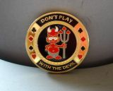 Poker Card Guard - Don`t Play with the Devil