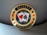 Poker Card Guard - Bullets / Pair of Aces