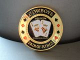 Poker Card Guard - Cowboys / pair of Kings