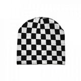 Beanie from Rock Daddy - Karo black/white