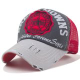 Vintage Trucker Cap - Break Downs No.68 / Rot und grau