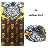 Vintage Tunnel -  Gold Skull