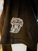 Gas Monkey Garage V-Neck Shirt - Side Monkey Shades / Blood, Sweat & Beers