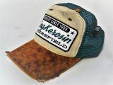 Vintage Trucker Cap von King Kerosin - Bakersfield / grün/beige