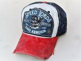 Vintage Trucker Cap - King Kerosin - Speed Lords / blau-rot