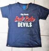 King Kerosin V-Neck T-Shirt Darkblue - Salt Lake Devils