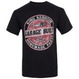 King Kerosin Regular T-Shirt / Garage Built - black