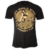 King Kerosin Regular T-Shirt / Tool Girl - black