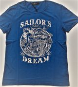 King Kerosin Vintage T- Shirt / Sailor`s Dream - Navy