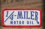 Patch - 1/4 Miler Motor Oil