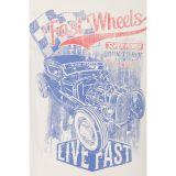 King Kerosin Vintage Longsleeve - Fast Wheels / Beige