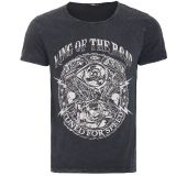 Vintage T-Shirt von King Kerosin - Motor / King of the Road - Schwarz